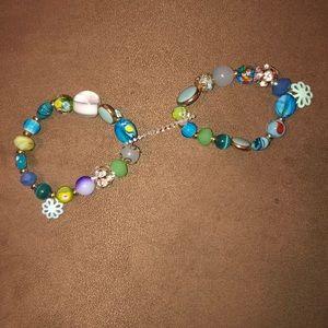 Jewelry - multi colored bracelets